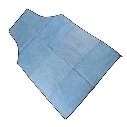 Premium-qualität Damen-kurz (perfeclan Premium Qualität Schweißschürze, 90 x 60 cm, Lang - Blau)