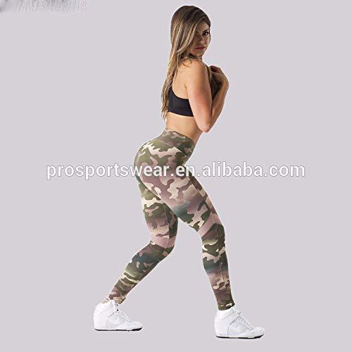 YUJIAGE Schweiß Camouflage Hosen Fitness Bekleidung für Yoga Plus Size Marke Kleidung Label Sexy Indian Women-XL - Kleidung Indian Sexy