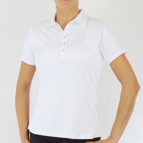 Green Lamb Polo en jacquard pour femme Blanc - blanc