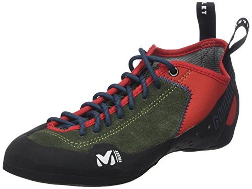 Millet Rock Up, Zapatos de Escalada Unisex Adulto, (Grape Leaf/Orange 000), 38...