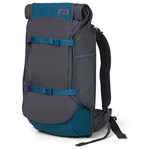 AEVOR Travel Pack - Handgepäck Rucksack, erweiterbar 38 bis 45 Liter, ergonomisch, wasserabweisend, Rolltop System, Echo Purple