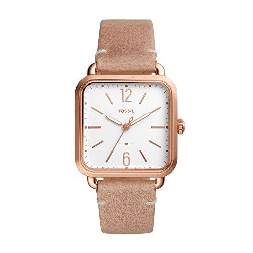 Fossil Damen Quarz Uhr mit Leder Armband ES4254