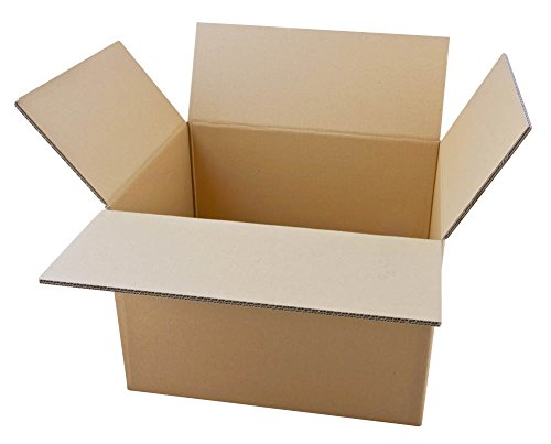 20 Wellpapp-Faltkartons 2-wellig 46,3 x 36,3 x 32,8 cm