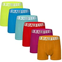 Natural Feelings Mens Underwear Trunks fashion Underwear Breathable Cotton boxer briefs for Men