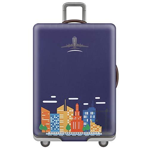 "Kofferhülle für 18-32\"", Elastic Suitcase Cover Polyester Dustproof Travel Trolley Case Cover, Prevent Gepäck Wear,2,XL"