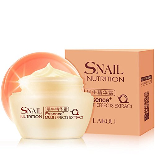 ROMANTIC BEAR Essence Snail Face Repairing Cream Whitening wrinkle Skin Care Hydrating (Anti-aging Hydrating Eye Cream)