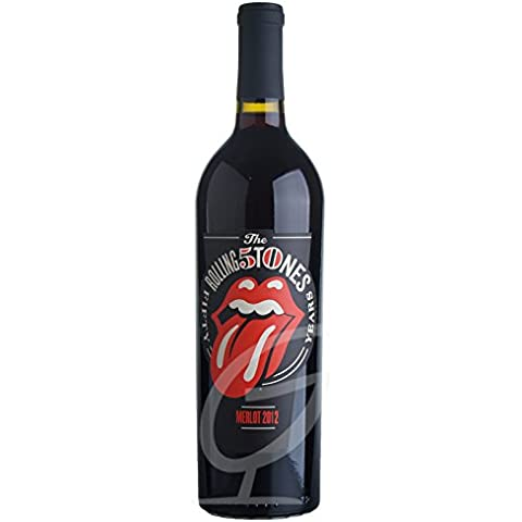 Rolling Stones Forty Licks Merlot Wines That Rock 2012 (1 x 0.75L)
