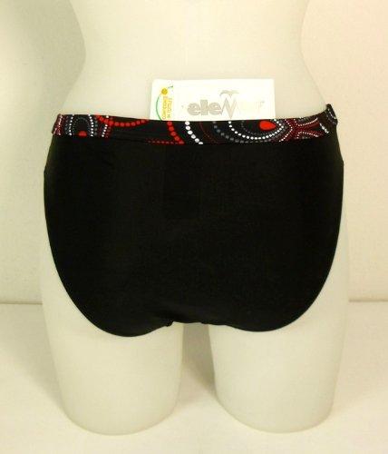 eleMar Damen Bikini Hose, Slip, Gr. 36 38 40 42 44 46, Neu 200 schwarz