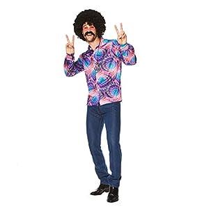 Karnival Costumes- Boho Shirt Disfraz, Multicolor, Medium (82187)