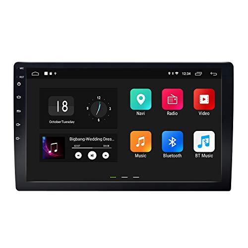 eonon 2din Android 8.1 Indash Car Digital Audio Video Stereo Autoradio 10,1 zoll HD LCD Touchscreen GPS Sat Nav FM AM RDS Bluetooth USB SD OBD2 WiFi 4G Headunit GA2168K (NO CD/DVD)
