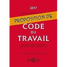 Proposition de code du travail - Nouveauté