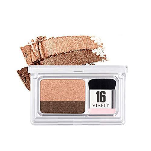 Valentine 's beste Geschenke für Frauen !!! Beisoug Sexy Faule 2 Farben Makeup Gradient Lidschatten...