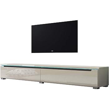 Swift Fernsehschranktv Lowboard In Beige Hochglanz Mit Led