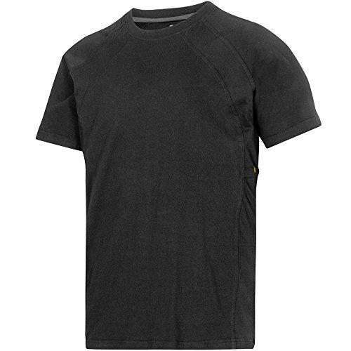 Snickers T-Shirt Classic stahlgrau Größe: M schwarz