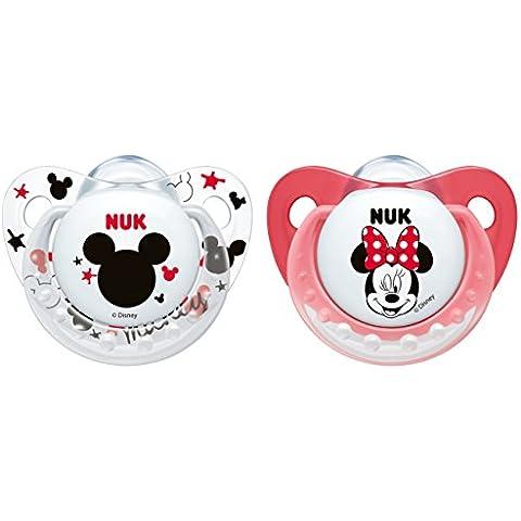NUK Disney Mickey/Minnie Trendline size 1, silicone,