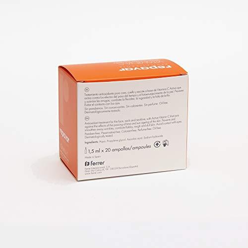 Repavar Revitalizante-Fiale di vitamina C attiva, 20 unità