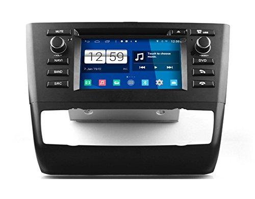 Roverone Android System 6.2 Zoll in Dash Autoradio GPS für BMW 1 Series E81 E82 E83 E87 E88 116i 118i mit Stereo Navigation System DVD Bluetooth SD USB Touch Bildschirm (Bmw-auto-stereo-system)