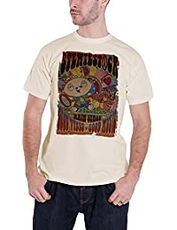 Family Guy T Shirt Stewie stewiestock Festival Poster Official Mens Yellow