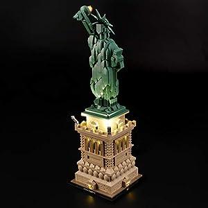 LIGHTAILING Set di Luci per (Architecture Statua della libertà) Modello da Costruire - Kit Luce LED Compatibile con Lego… 5 spesavip