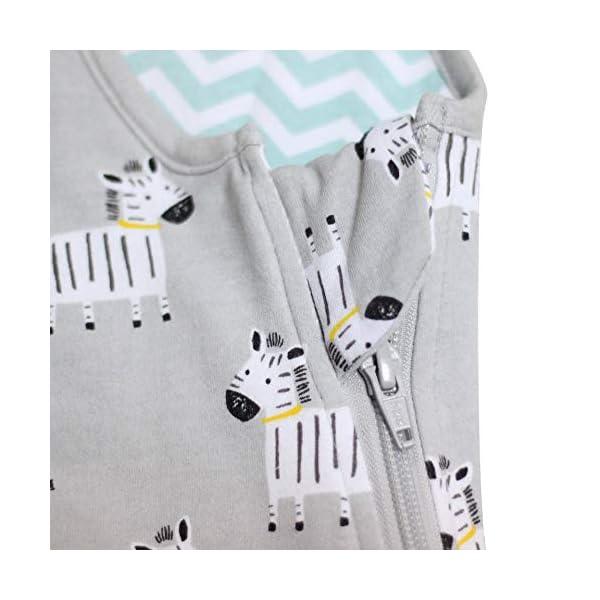 Saco de Dormir, 100% algodón del bebé Manta ponible Bebé Niño Niña Los Sacos de Dormir para niños de Infant Kids evitan patear el edredón