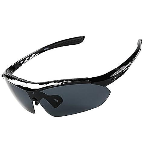 Polarized Sports Sunglasses, Rosa Schleife® Multi Functional UV 400 Protection
