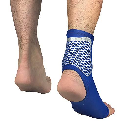 AYEMOY Supporto Regolabile e Traspirante - Dolore Cronico alla Caviglia, Infiammazione e Riabilitazione Lesioni Sportive