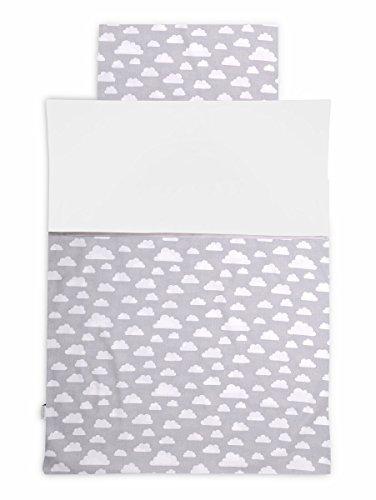 KempKids. Bettdecke und Kissenbezug Set, Größe: 90 x 120 cm, Baby Bettwäsche - - Bettwäsche-sets Baby-krippe