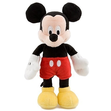 Disney Mini Bean Bag Mickey Mouse Plush Toy 9'' H