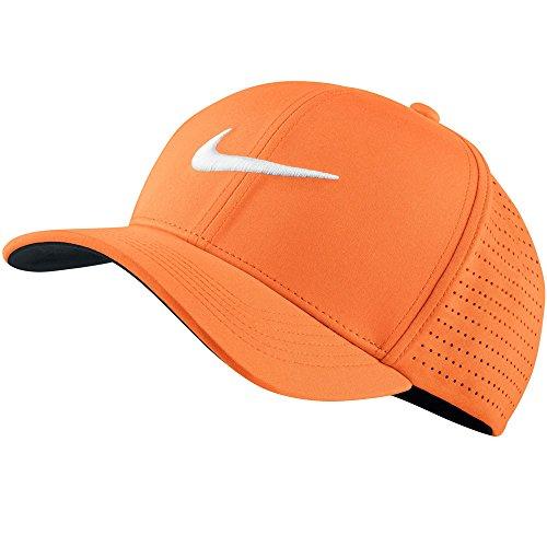 Nike Classic99Perf- Casquette de Golf pour Homme, Homme, Classic99 Perf, Mandarine (856)