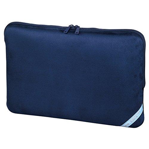 Hama 101211 Velour Notebook-Sleeve bis 40 cm (15,6 Zoll) indigoblau