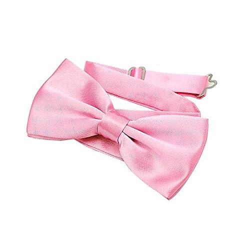 Clown Rose Costumes - DonDon Nœud papillon avec crochet rose- déjà