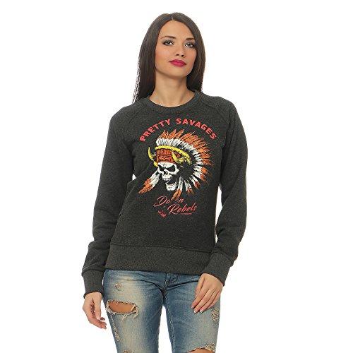 Yakuza Premium Damen Pullover GP 2445 anthra (Erste Premium-rundhals-sweatshirt)