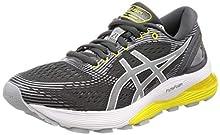 ASICS Gel-Nimbus 21, Chaussures de Running Femme, Multicolore (Dark Grey/Mid Grey 021), 39 EU