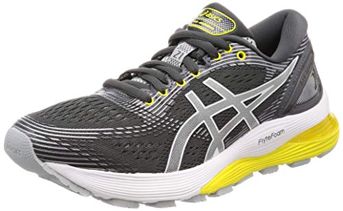 purchase cheap 0426a d3f6e Asics Gel-Nimbus 21, Zapatillas de Running para Mujer, Gris (Dark Mid