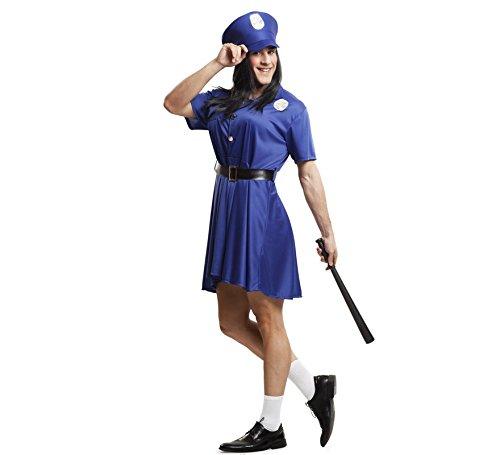 Imagen de viving  disfraz policia mujer hombrem/l