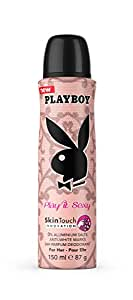 Playboy Play It Sexy 24H Parfum Deodorant For Her-Pour Elle,150ml