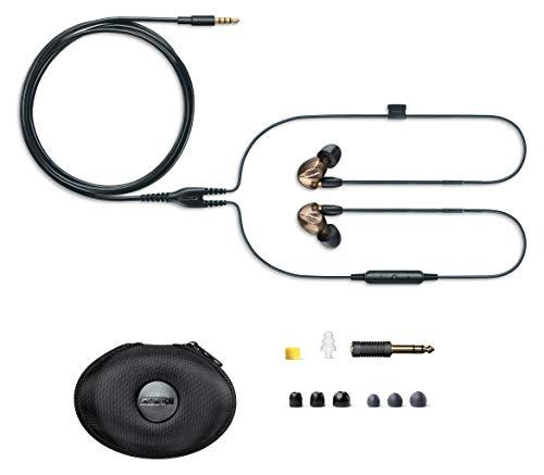 Shure SE535 In Ear Kopfhörer mit Sound Isolating Technologie, 3, 5-mm-Kabel, Fernbedienung und Mikrofon - Premium Ohrhörer mit warmem & detailreichem Klang - Bronze - 3