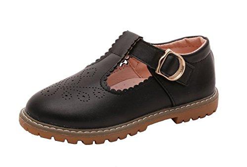WUIWUIYU Fille Ballerine ete Sandales Ceremonie Mary Jane Chaussures