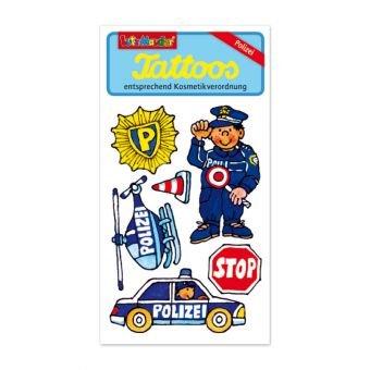 Polizei Party Supplies (Lutz Mauder Lutz mauder44591Police Tattoo (One)