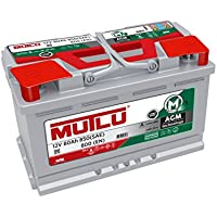 Mutlu 096 AGM Car Battery 12V 70Ah 800A (SAE) 760A (EN) - ukpricecomparsion.eu