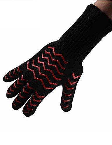 LHP Shoutao Mikrowellen-Ofen Handschuhe Ofen Isolierhandschuhe Küchen-Backen-Silica Gel Handschuhe Hitze Verbrühungsschutz Handschuhe
