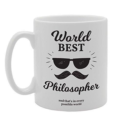 World Best Philosoph und das in jeder möglich Welt Tasse Geschenke Inspirierende Kaffee Tasse Keramik Tasse Tassen für Freunde 312