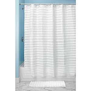 Interdesign tuxedo sc tenda doccia tende per doccia in - Tende per doccia in tessuto ...