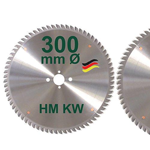 HM Sägeblatt 300 x 30 mm Zähne 72 KW Kreissägeblatt Hartmetall 300mm Ersatzsägeblatt für DeWalt / Elektra / Elu / Haffner / Holz-Her / Metabo / Scheppach / Schleicher / Striebig / Ulmia
