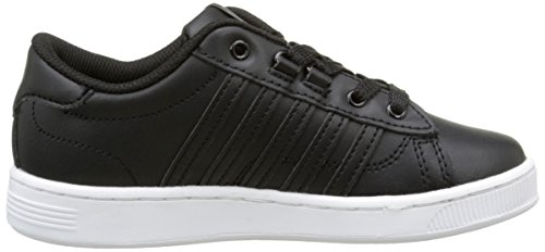 K-Swiss Hoke K, Baskets Basses Mixte Enfant Noir (Black/White)
