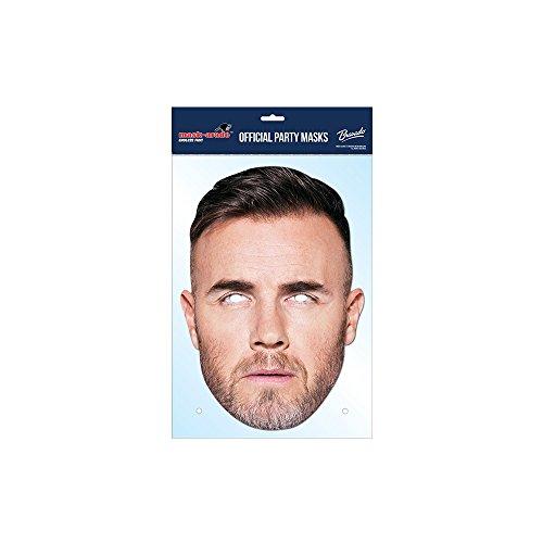 Gary Barlow Take That Maske, Mask-arade Karte Gesichtsmaske, Kostüm/Identitätswechsel