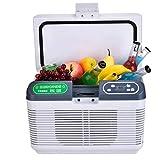 Auto Mini-Gefrierschrank Kühlschrank Thermostat Car Home Heizung und Kühlbox mit kleinem Verwendungszweck Auto Kleiner Inkubator 12L Auto Dual-Use-Horizontalheizung Mini-Kühlschrank ( Farbe : Weiß )
