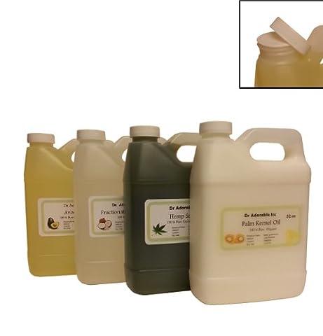 Brazil Nut Oil Unrefined (Virgin) Organic 100% Pure 32 Oz/1 Quart