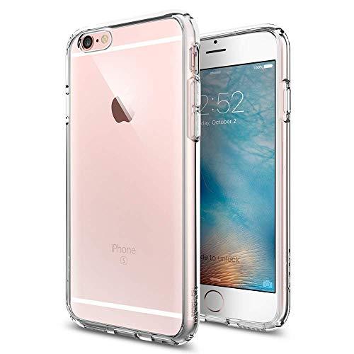 Spigen SGP11598 Ultra Hybrid Kompatibel mit iPhone 6S/6 Hülle, Einteilige Transparent Durchsichtige PC Rückschale Schutzhülle Case Crystal Clear (Iphone Spigen 6 Folie Case)