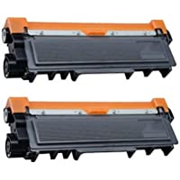 Prestige Cartridge TN2320 Pack de 2 Cartuchos de tóner láser para Brother HL-L2300D, HL-L2320D, HL-L2340DW, HL-L2360DN, HL-L2360DW, HL-L2365DW, HL-L2380DW, DCP-L2500D, DCP-L2520DW, DCP-L2540DN, DCP-L2560DW, MFC-L2700DW, MFC-L2720DW, MFC-L2740DW